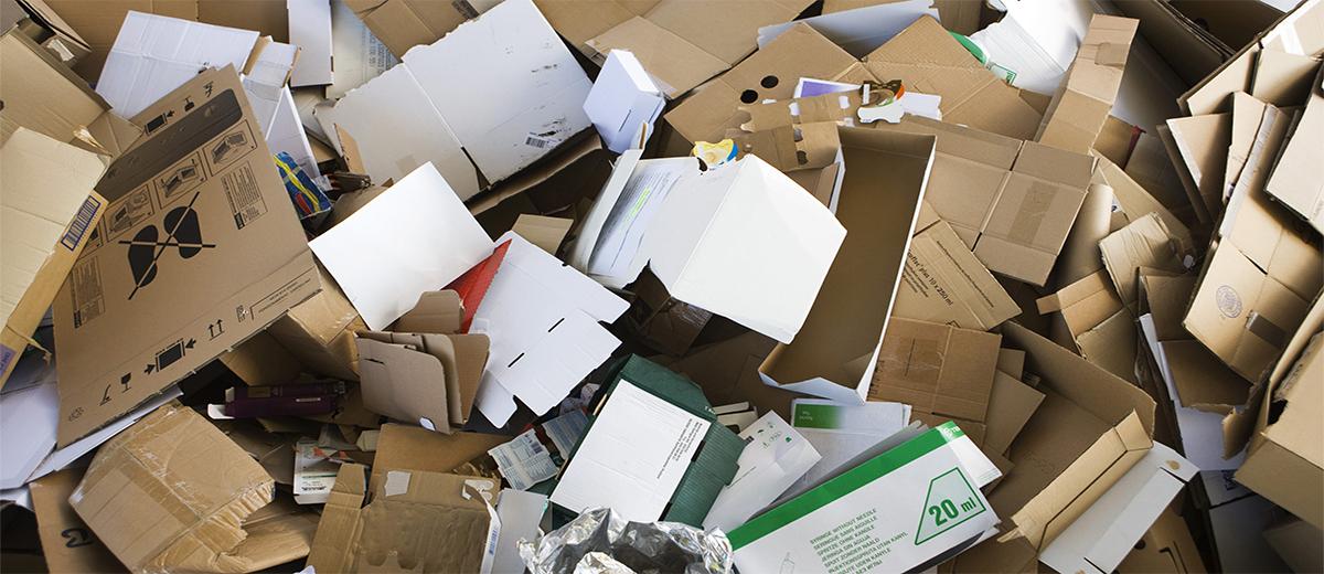 Compactage carton Galicier