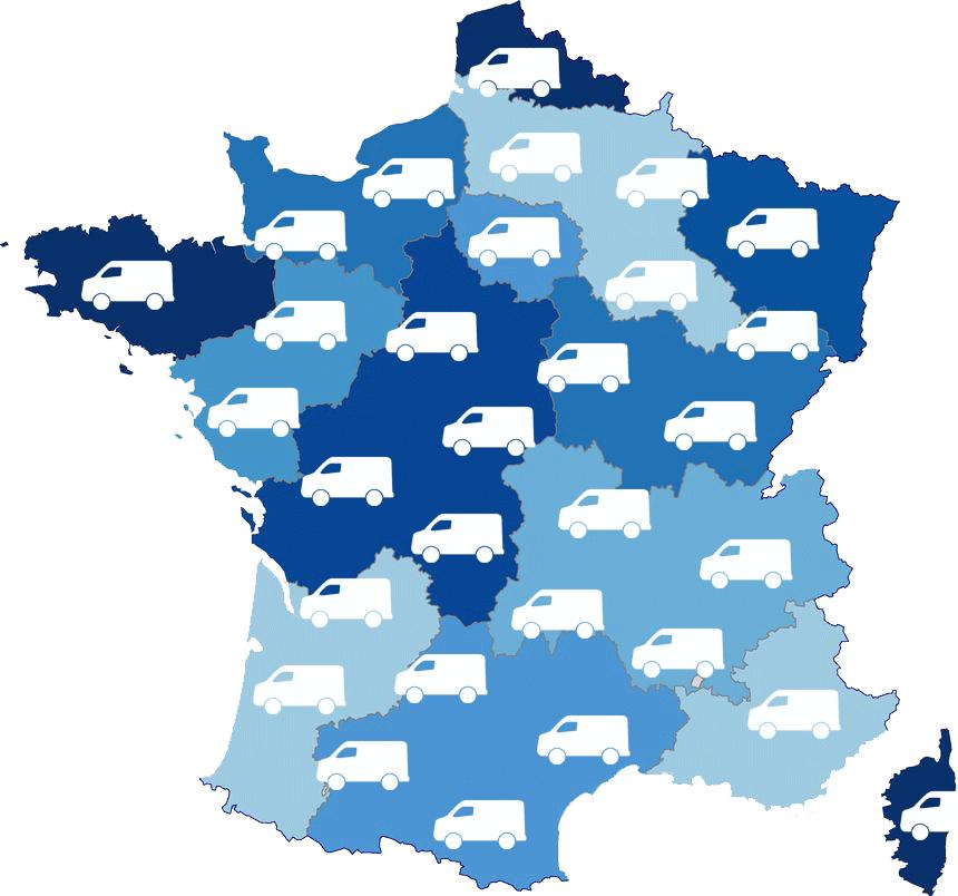 carte France SAVN