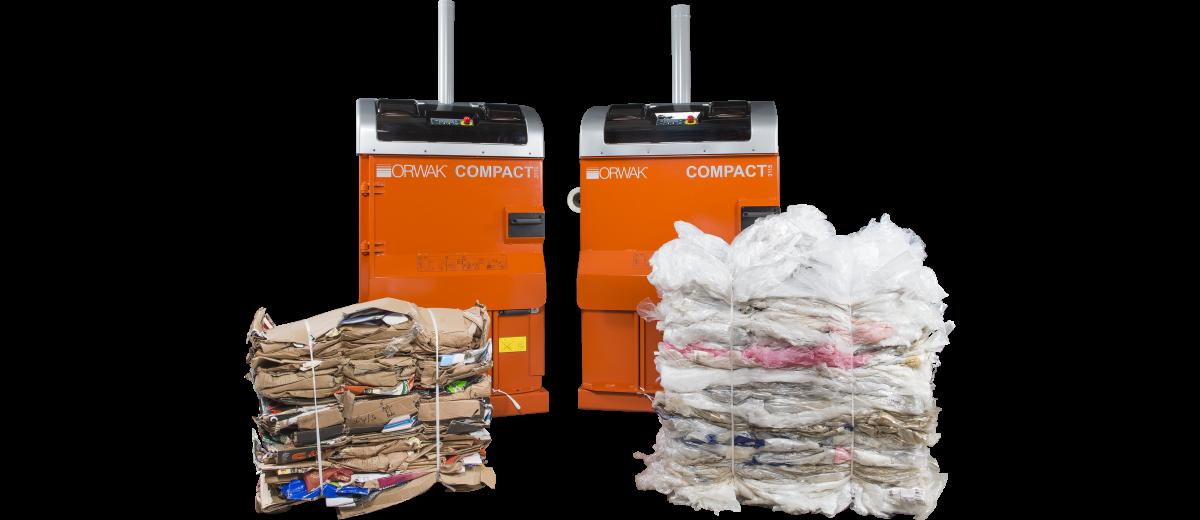 presse à déchets Orwak compact