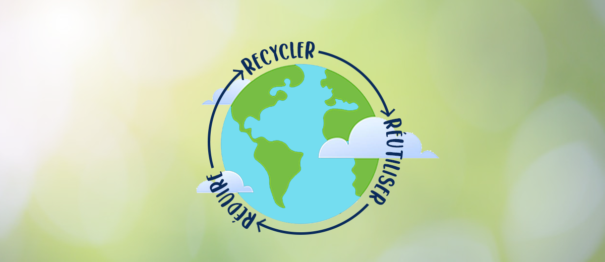 Gestion des déchets : Réduire, recycler, réutiliser